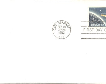 1962 First Day Issue Project Mercury