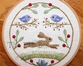 The Hare Crewel Embroidery Pattern and Kit