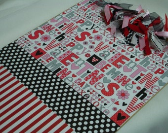 CLEARANCE Sale VALENTINE CLIPBOARD
