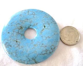Chalk Turquoise Round Donut Supply- Medium/Large