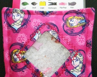 I Spy Bag - Mini with SEWN Word List and Detachable PICTURE LIST- Frozen Sister Love
