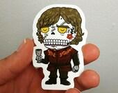 Tyrion Lannister Die Cut Vinyl Sticker Day of the Dead