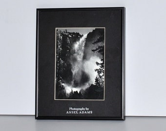 Photography by Ansel Adams Framed Print