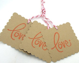 Love Tags - Set of 3