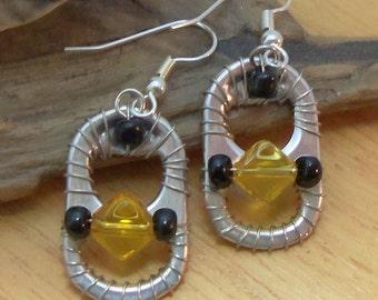 Ann-Made Pop Top Earrings - Citronella