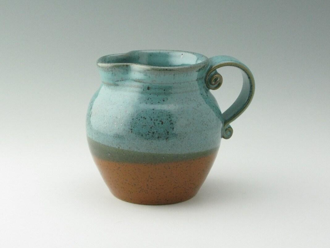 pitcher or decorative flower vase 24 oz in by twistedriverclay. Black Bedroom Furniture Sets. Home Design Ideas