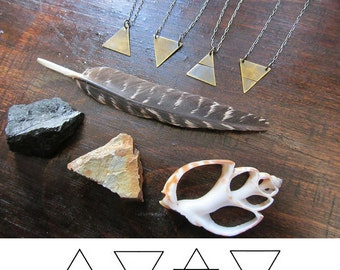 Fire, Water, Earth, Air - The Four Elements Necklaces