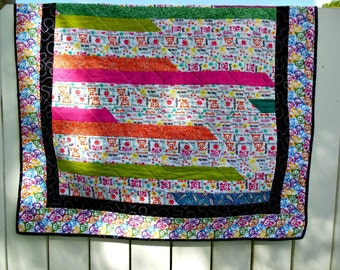 Not Your Ordinary Baby Quilt - OOAK
