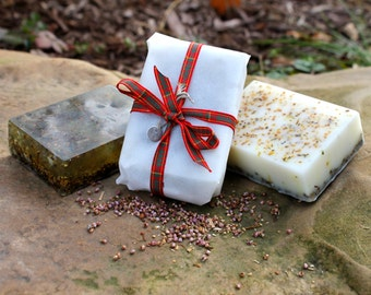 Happy Heather Herbal Soap