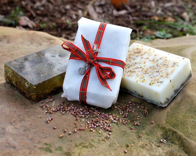 Happy Heather Herbal Soap