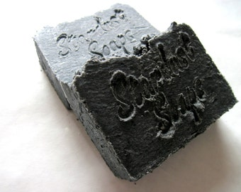 Detox -Activated Natural Charcoal Soap - For All skin types, Acne Prone skin, specialty soap) Stardust Soaps