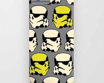 Phone case, Iphone case, Star wars phone case, Stormtropper case, gift for boyfriend, Galaxy case, Case mate, Hard case
