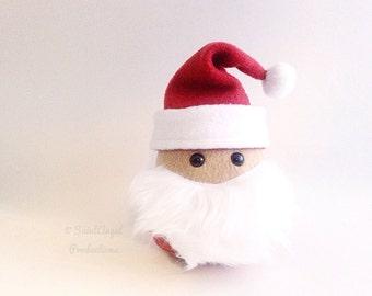 Stuffed Santa Claus, Kris Kringle, A Jolly Old Man Plushie READY TO SHIP