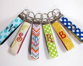 Monogram Key Chain,  Monogram Key Fob, Key Chain, Monogram Keychain, Personalized Key Chain, Teacher Appreciation Gift, Shower Favor gifts