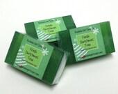 Fresh Christmas Tree Mini GUEST BAR Detergent Free Frasier Fir Handmade Glycerin Soap