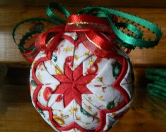 CHRISTMAS FUN - Folded Star Ornament Kit - No Sewing - Complete Kit