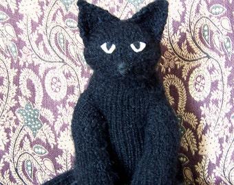 Fabulous Flexible Feline Stuffed Toy - Black Cat