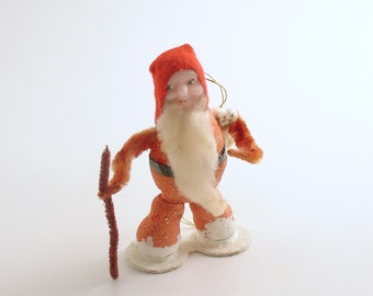 Vintage Santa Christmas Ornament Santa Ornament Christmas Decoration