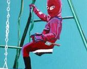 Homemade Spiderman Print