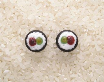 13mm DF Lampworked Borosilicate Glass Sushi Plugs