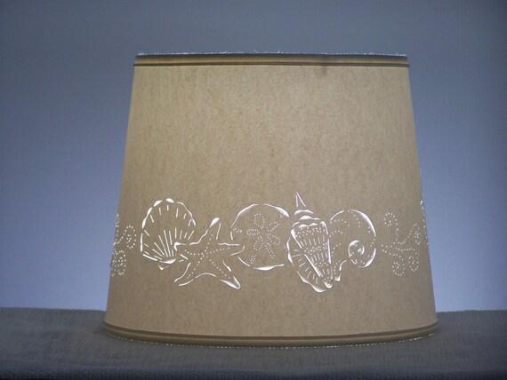 Seashell Cut Lampshade Paper Lampshade Cut Amp Pierced