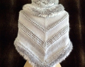 Knitting Patterns Frost Shawl Cowl Fingerless Gloves Hat eBook Multiple Patterns in one PDF Download