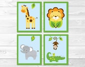 Cute Jungle Animal Nurser...