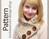 Weekend Cowl - Crochet Pattern (PDF) - INSTANT DOWNLOAD