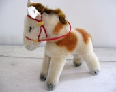 Vintage Steiff Mohair Antique Toy Horse