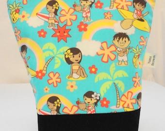 Insulated Lunch Bag - Hawaiian Print