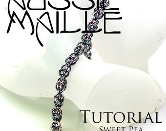 Chainmaille Tutorial - Sweet Pea Bracelet