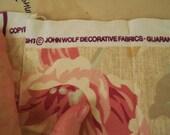 Vintage Fabric Barkcloth Reproduction