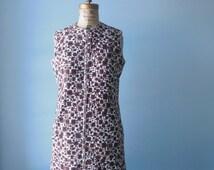 60s McMullen shift dress // 100% cotton