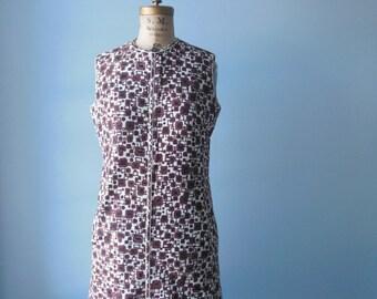Sale 60s McMullen shift dress // 100% cotton