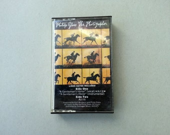 PHILIP GLASS cassette tape, the photographer,