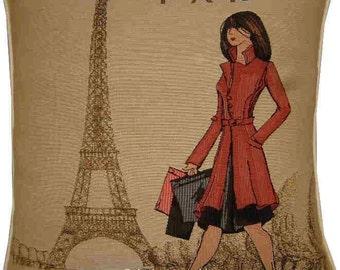 Femme Elegant by Lalliberte Paris Tapestry Cushion Sham
