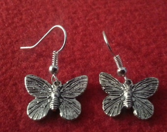 Butterfly, Butterfly earring, butterfly jewelry, Mariposa, Mariposa earrings,ready to ship