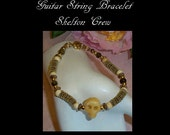 Guitar String Jewelry, Skelton Crew