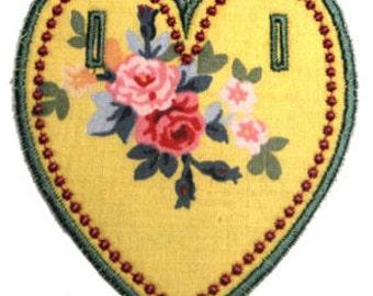 VALENTINE HEART BUNTING  Machine embroidery Designs