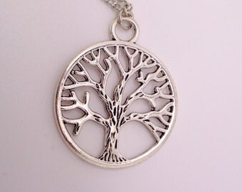 Tree of Life Necklace, Life Necklace, Tree of Life Pendant SALE