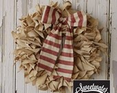 Canvas Wreath- Download Pattern