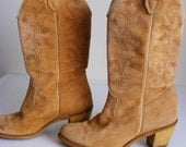 Reserved for Kristi Vintage Wolverine Womens Cowboy Boots
