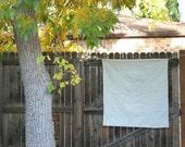 RESERVED Yoshinko Jinzenji  Minimalist Baby Quilt Duvet