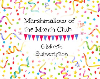 Cupcakes In Jars Marshmallow of the Month Club - Six Month Subscription