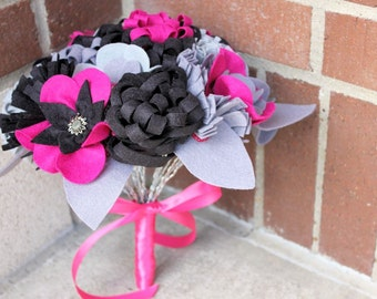 "12 Stem ""Felt So Pretty"" Felt Flower Bouquet"