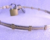 Made to Order Fancy Slave Collar-Mixed Metals
