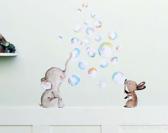 Bubble Party -- Wall Decal