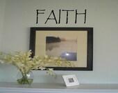 Faith Wall Decal Wall Transfer Wall Tattoo