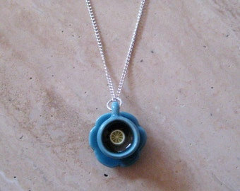 Food Jewelry - Mini Teacup Necklace - Pick Your Color