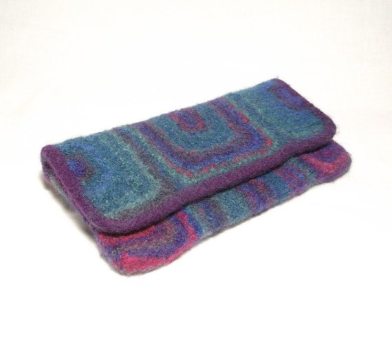 Knitted Clutch Bag Pattern : Aurora Clutch Bag Knitting Pattern by ClaireFairallDesigns on Etsy